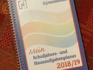 Schuljahresplaner 2018/2019 (Cover: Martin Dühning)