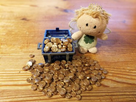 Präsentation der neuen Goldmünzen in Südninda (Foto: Rosa Dudelspru)