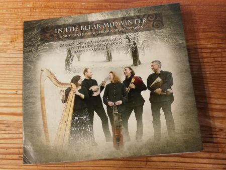 "Cover des Albums ""In The Bleak Midwinter - A Musician's Journey from Norway to Spain"", erschienen 2012 bei CAB Records."
