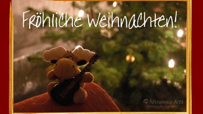 Fröhliche Weihnachten 2018! (Foto: Martin Dühning)
