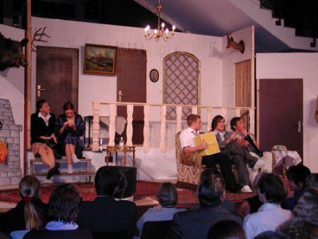 """""""Was wird hier gespielt"""" (2002) war der Höhepunkt der Theatertätigkeit von Michael Buchmüller am KGT (Foto: Martin Dühning)"""