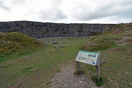 Der antike Steinbruch auf dem Great Orme (Foto: Martin Dühning)
