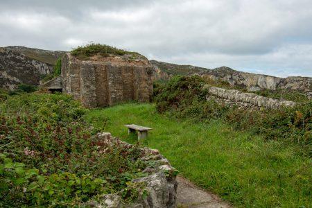 Bunkeranlage aus den Weltkriegen im Breakwater Country Park (Foto: Martin Dühning)