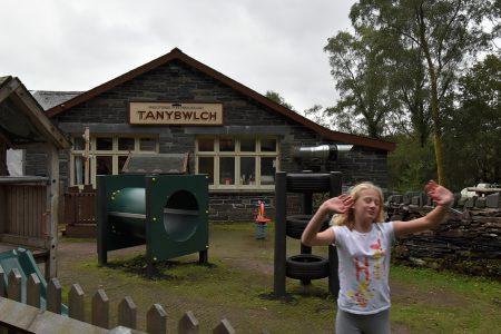 Kinderspielplatz bei Tan-y-Bwlch (Foto: Martin Dühning)