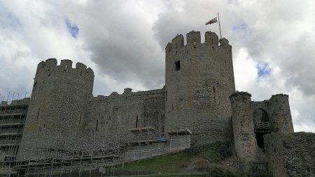 Festungsmauern von Conwy Castle (Foto: Martin Dühning)