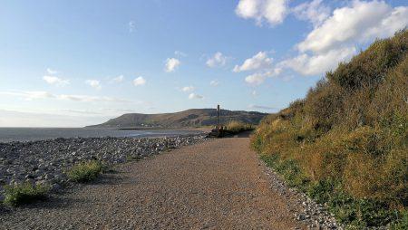 Uferweg von Deganwy zum Südstrand von Llandudno (Foto: Martin Dühning)