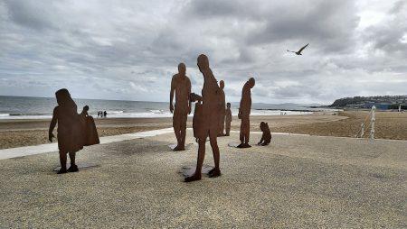 Strandpromenade von Colwyn Bay (Foto: Martin Dühning)