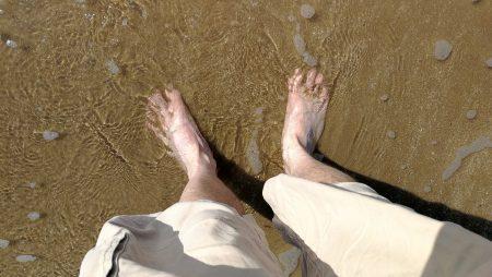 Mich im Meer (Foto: Martin Dühning)