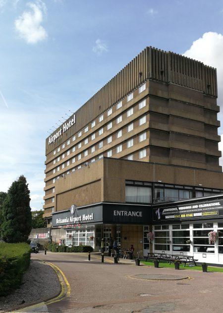 Das Britannia Hotel - die große Sehenswürdigkeit von Northenden (Foto: Martin Dühning)