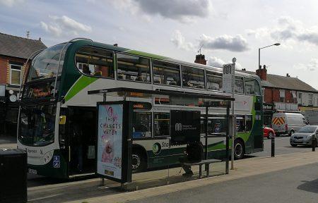 Der Bus nach Northenden (Foto: Martin Dühning)