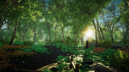 Virtueller Wald in Eastshade (Screenshot)