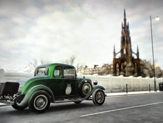 Virtuelles Edinburgh (Screenshot)