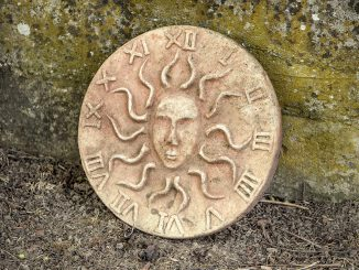 Wiedergefundenes Sonnenrad (Foto: Martin Dühning)
