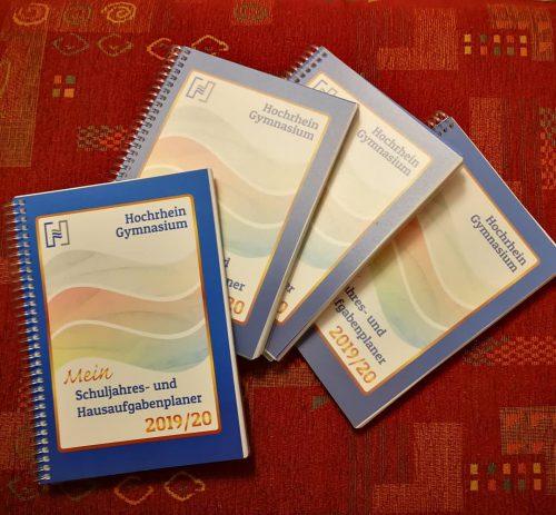 Schuljahres- und Hausaufgabenplaner 2019/20 (Cover: Martin Dühning)
