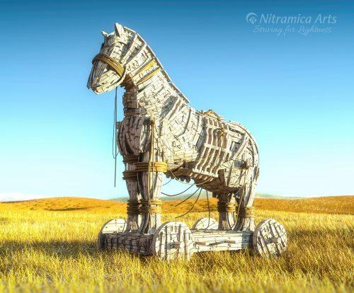 Trojanisches Pferd (Grafik: Martin Dühning)