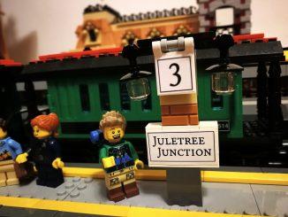 Erweiterte Plattform von Juletree Junction (Foto: Rosa Dudelspru)