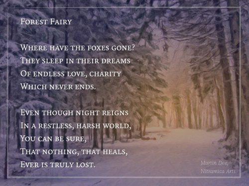 Forest Fairy Poem - Text und Grafik: Martin Dühning