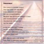 Derailment - Visual Poem