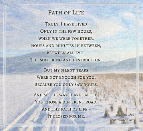 Path of Life - Visual Poem