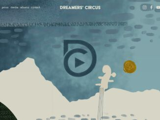 "Webseite der Band ""Dreamer's Circus"" (Screenshot)"