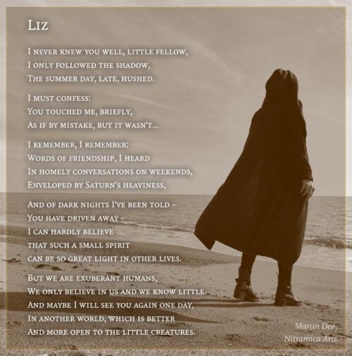 Liz - Visual Poem (Text & graphic: Martin Dühning)