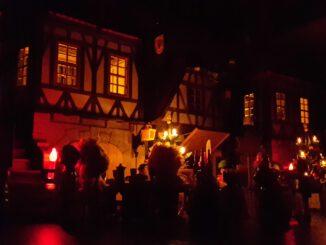 Weihnachtliche Feier in Aprilis (Südninda).