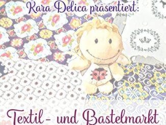 Kara Delica präsentiert Textilwaren für den Markt in Ventadorn
