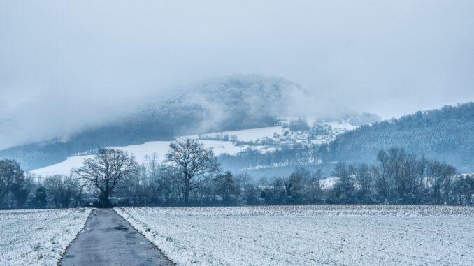 Der Neujahrstag in Lauchringen, 2021 (Foto: Martin Dühning)